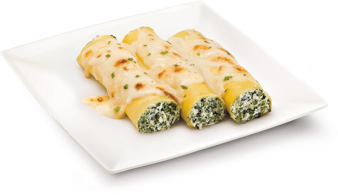 Cannelloni ricotta e spinaci – Bassa Risoluzione – PNG a 72 DPI