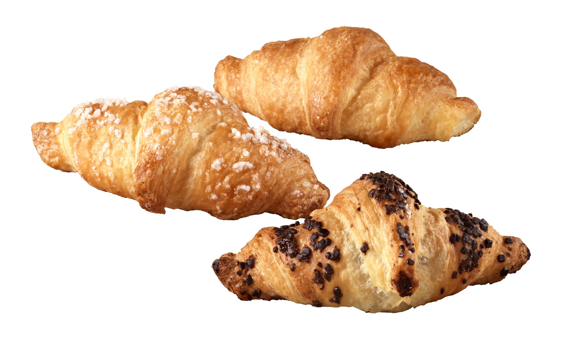 Croissant mignon mix – Bassa Risoluzione – PNG a 72 DPI
