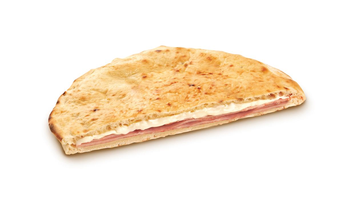 Focaccia cotto e mozzarella – Bassa Risoluzione – PNG a 72 DPI