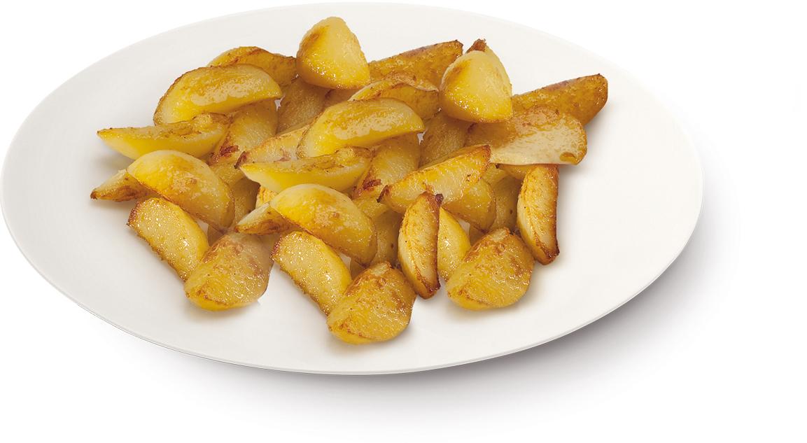 Patate a spicchi – Bassa Risoluzione – PNG a 72 DPI