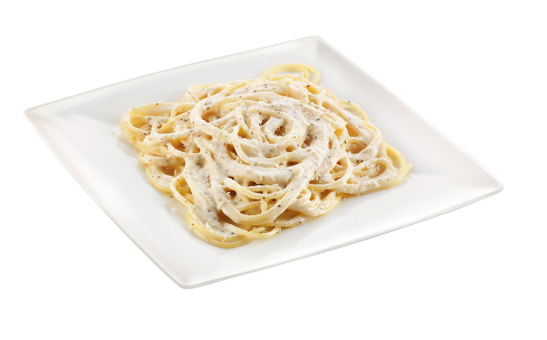 Spaghetti cacio e pepe – Bassa Risoluzione – PNG a 72 DPI