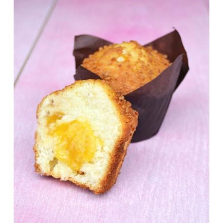 muffin-tulipano-mandorle-amaretti-e-pesca-delifrance